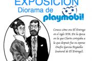 DIORAMA DE PLAYMOBIL
