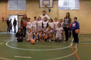 Equipo de baloncesto benjamín - Noviembre 2014
