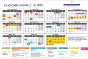 CALENDARIO ESCOLAR CURSO 2018-2019