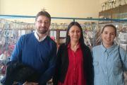 Proyecto Rey Aurelio - Visita de autoridades